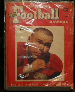 1952 Illustrated Football Annual -- Good condition, sealed in plastic