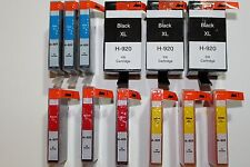 12 inks Black&Color 920XL for HP Printer Officejet 6000 6500A 7000 7500A Series