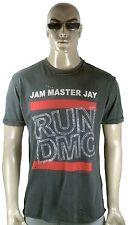 Amplified RUN DMC Jam Maestro Jay Estrás VIP Rock Star Vintage Agujeros Camiseta