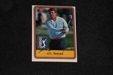 J.C. SNEAD 1981 DONRUSS ROOKIE SIGNED AUTOGRAPHED CARD #54 GOLF
