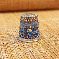 THIMBLE BUTTERFLIES sterling silver 925 Russia  # 45055002