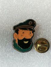 Pin's Pins Tintin et Milou bd Hergé comic strip coinderoux 7 lombard haddock