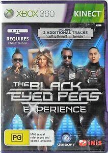 The Black Eyed Peas Experience Microsoft Xbox 360