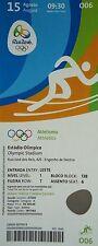 mint TICKET 15.8.2016 Olympic Rio Leichtathletik # O06