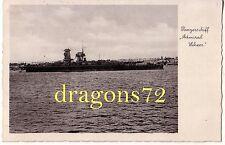 """Foto PK Postkarte Kriegssmarine Kriegsschiff Panzerschiff """"Admiral Scheer""""++orig"""