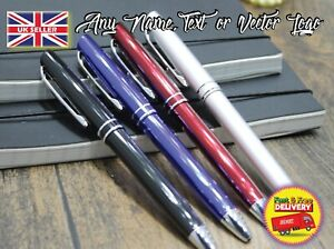 Personalised pen for business birthday father dad mom gift any name classic look