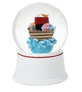 Hallmark Noah's Ark Musical Snow Globe Journey Begins with a Promise of Love New