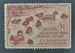 nystamps US Duck Stamp # RW8 MOG        O15y620