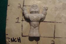 vintage ROBOT Eraser: 1980's FIGURE, WHITE