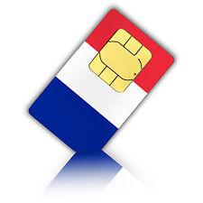 SIM Karte für Frankreich mit 3 GB Daten für mobiles Internet