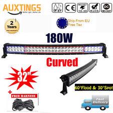 "32"" 180W Curved LED Light bar Scheinwerfer Arbeitsscheinwerfer Offroad EU"