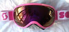 $120 Scott Womens Off Grid Plus Pink Purple Winter Snow Ski goggles Ladies Roxy