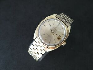 VINTAGE OMEGA CONSTELLATION GOLD & STEEL AUTOMATIC CAL 564 ORIGINAL BAND
