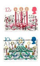 GB/UK stamps 1980 Christmas SG1138/39. 2 stamps