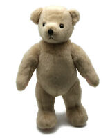 "2001 Bendy Muffy Vanderbear 8"" Beige Plush Teddy NABCO North American Bear Co."