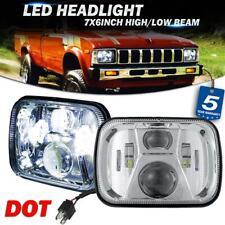 "2x 5x7"" 7x6"" LED Headlight High Lumen Chrome Lamp for Toyota Nissan Pickup Truck"
