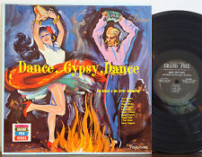"JAN HUBATI GYPSY ORCH ""Dance, Gypsy, Dance"" MEGA RARE 1959 DG GRAND PRIX STR LP"