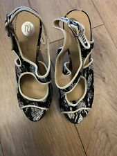River Island Women's Shoes / Wedges / Sandals Uk Size 4