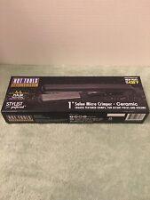 "NEW Hot Tools Professional 1"" Salon Ceramic Micro Crimper Hair Stylist UL3817GWP"