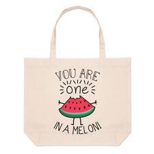 you are unique en un melon Grand Plage SAC FOURRE-TOUT - Drôle SAINT VALENTIN