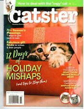 Catster ~ Nov/Dec 2017 ~ Russian Blue, Norwegian Forest Cat