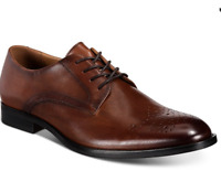 Alfani Men's Leather Darwin Lace-Up Oxfords Shoes Size 10.5 New $90 MCYB1-1
