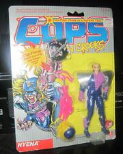 Vintage Cops n Crooks figure C.O.P.S. hasbro 1988 Hyena Rare