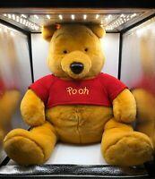 Jumbo Official Disney Store Winnie The Pooh Yellow Teddy Bear Plush Stuffed Toy
