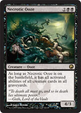 Necrotic Ooze, NM English x 4 Scars of Mirrodin MTG *Low International Shipping*