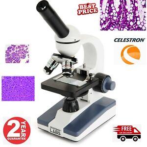 Celestron Labs CM1000C Compound Microscope 44229 OR 44129-CGL (UK Stock)
