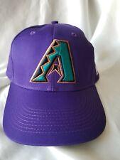 huge selection of f4d37 ddc6a RARE 90 s VTG MINT ARIZONA DIAMONDBACKS CAP Hat SNAPBACK MLB RARE LOGO