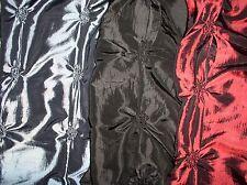 Ausgefallen Taft mit Kraüseln-Effekt in Silber, Schwarz oder Rot
