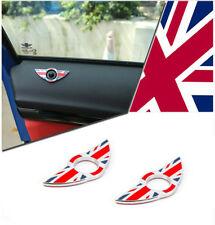 Red rice Wing Car Door Lock Knobs Pins Central Locking For MINI Cooper F55 F56