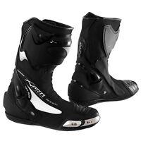 Stivale Scarpa Calzatura Pelle Moto Race Racing Sport Pista Tecnico