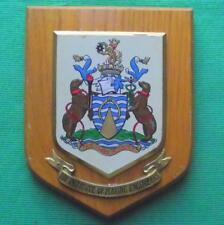 OLD Institute Marine Engineers  MASTER MARINERS Ship Crest Shield Plaque