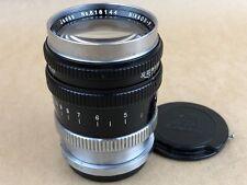 """Nikon RF Black 10.5cm f/2.5 Nikkor - P.C. Nippon Kogaku Japan  """"EP"""" mark #818144"""