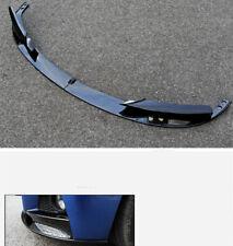Front Bumper Spoiler Trim Lip For 2012-18 BMW F30 3 Series M Style Carbon Fiber