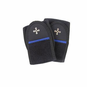 TOMMIE COPPER Unisex Black 2 Pack Compression Wrist Wraps NWOT