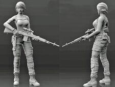 1/35 Resin Female Sniper Fantasy Soldier Unpainted unassembled CK009