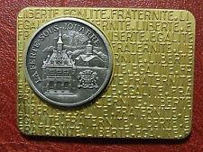 French city LA FERTE - SOUS JOUARRE medal plaque by J. BALME