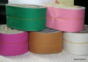 "Moda Scrap Bag Bella solid 2½"" x 32"" strips assorted colors 100% quilt cotton"