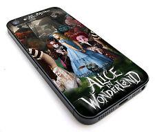 ALICE IN WONDERLAND for iPhone 4/4S 5/5S 5C 6 6S Plus Hard Case tr1