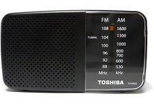 *New* Toshiba Tx-Pr20 Portable Pocket Am Fm Radio - Black