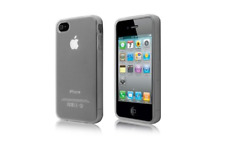 Housse Etui Coque Silicone Gel Transparent ~ Apple iPhone 4 / iPhone 4S