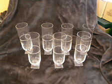 Rare Vera Wang by Wedgewood Glasses/All Signed on Bottom/Set of 7/EXCELLENT