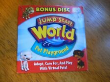 Jump Start World Pet Playground  Pc- Cd-Rom 2007 Windows Free Ship