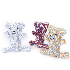 perdurable Bär Knoten für kleine und große Hunde Spielzeug Ausbildung Kauen ;X