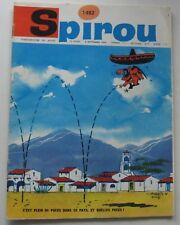 JOURNAL SPIROU N°1482 LUCKY LUKE/MARC LEBUT avec MINI RECIT 1966 BON ETAT