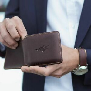 Volterman Bifold Brown Wallet  - Latest Version of Wallet (Fast Shipping)
