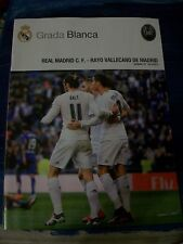 REAL MADRID v RAYO PROGRAMME 20.12.2015 Poster JAMES RODRIGUEZ. ROMA PRE MATCH